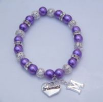 Initial Bracelets - Sparkle & Bling Style